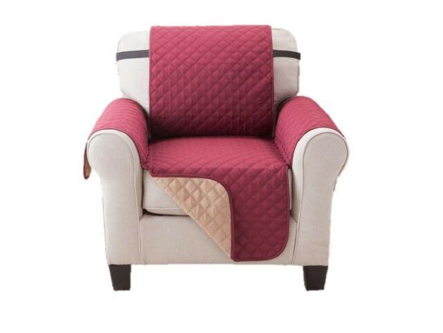 Elaine Karen Deluxe Reversible Chair Pet Furniture Protector for .