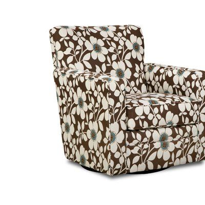Latitude Run Simmons Upholstery Katrina Swivel Glider Color .