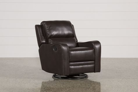 Scorpio Brown Swivel Glider Recliner | Recliner, Swivel glider .