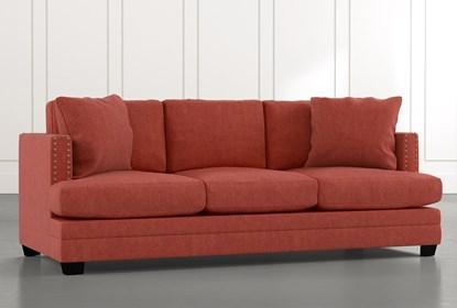 Kiara II Red Sofa | Living Spac