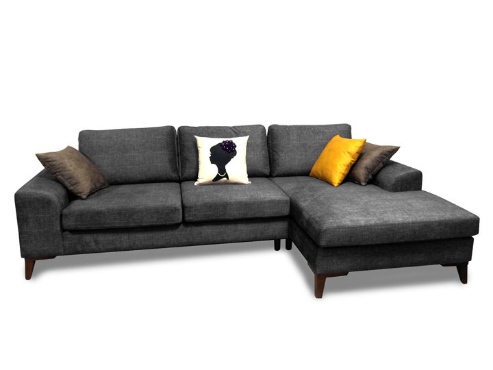Mare Collection Halley L shaped Sectional Sofa - Home Designer Goo