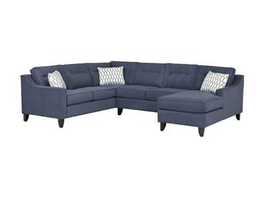 Shop for Klaussner Audrina Sectional, K31600 SECT, and other .
