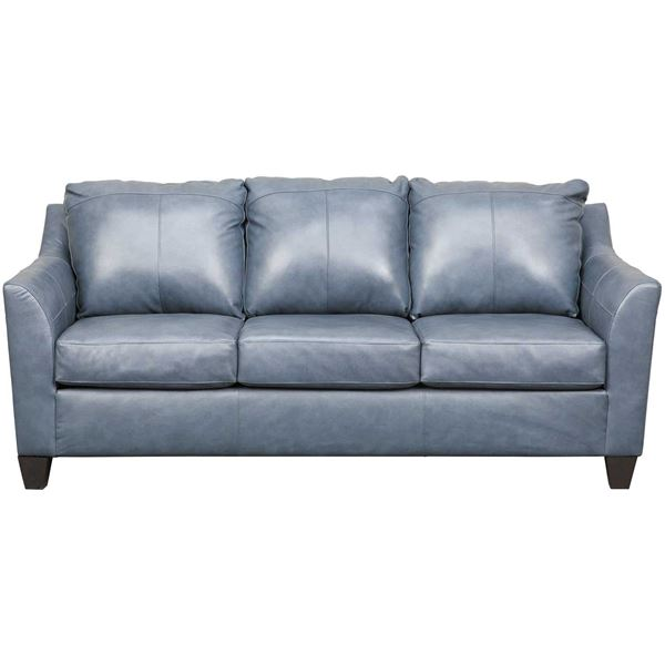Declan Shale Leather Sofa 2029S SOFT TOUCH SHALE | Lane Home .