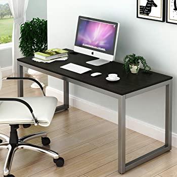 Amazon.com: SHW Home Office 55-Inch Large Computer Desk, Espresso .