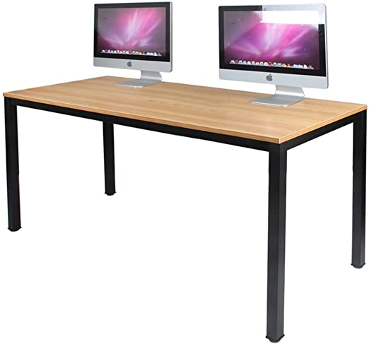 Amazon.com: DlandHome 63 inches X-Large Computer Desk, Composite .