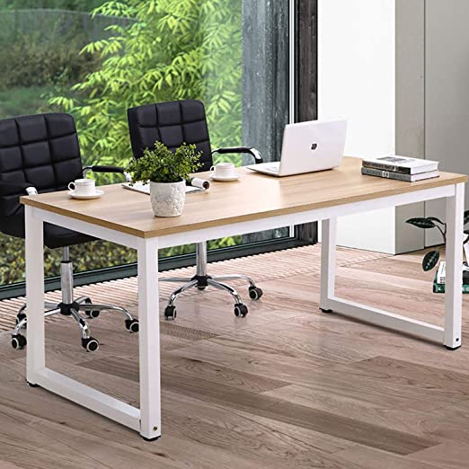 Amazon.com: Home Office Desk-63 Inch Large Computer Desk Computer .