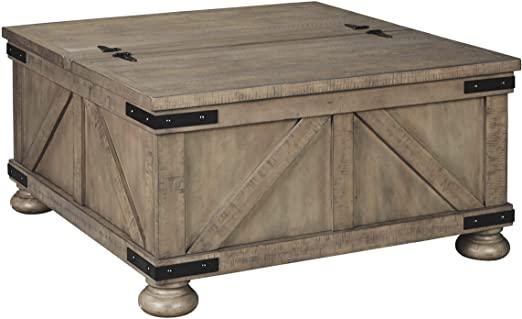 Amazon.com: Signature Design by Ashley - Aldwin Farmhouse Storage .