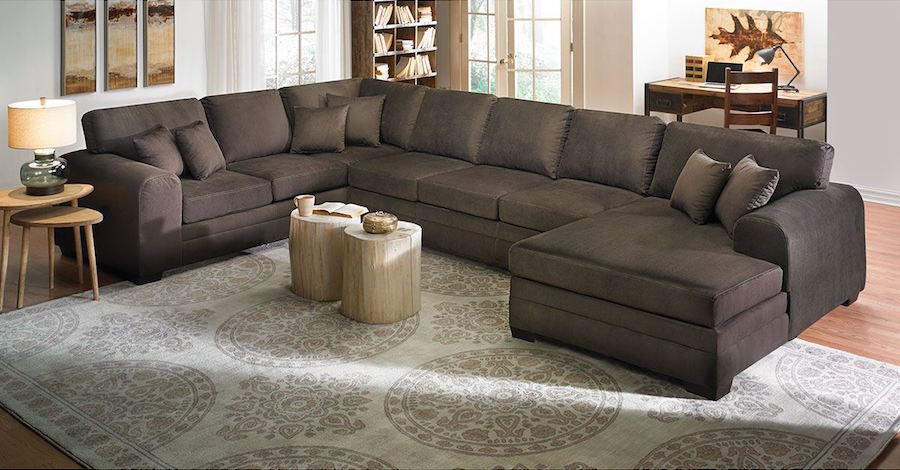 oversized-sectional-sofa-largest-sectional-sofas-oversized-l .