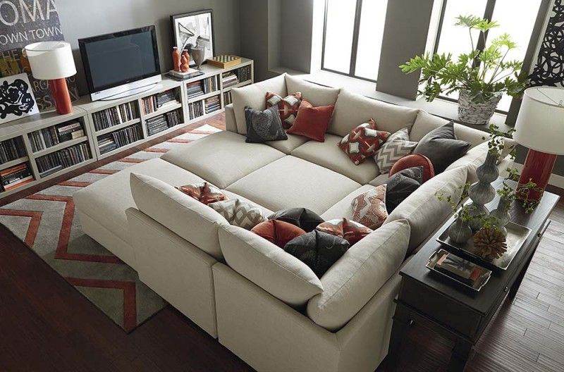 20 Awesome Modular Sectional Sofa Designs | Oversized sectional .