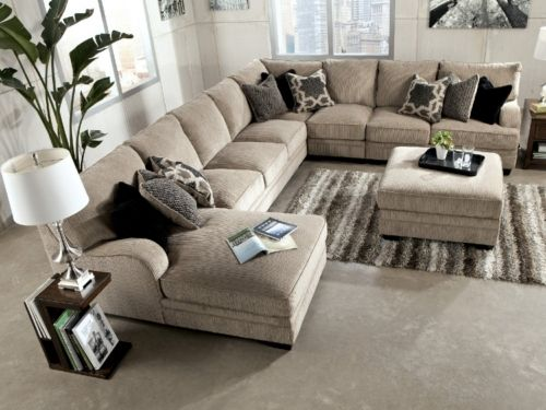 undefined- HOM furniture sectional sofa … | Sectional sofa with .