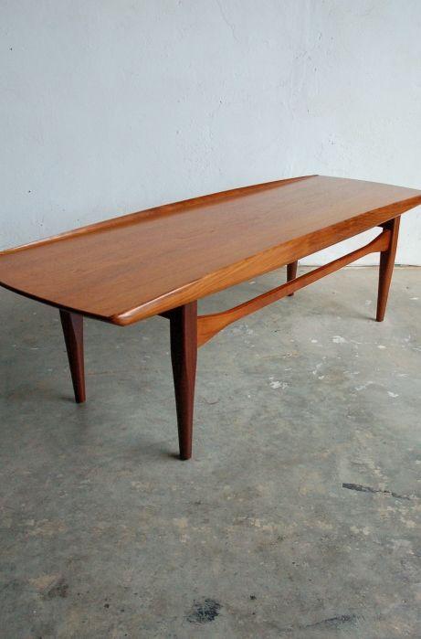 Danish teak coffee table by Grete Jalk | OSI MODERN | Teak coffee .