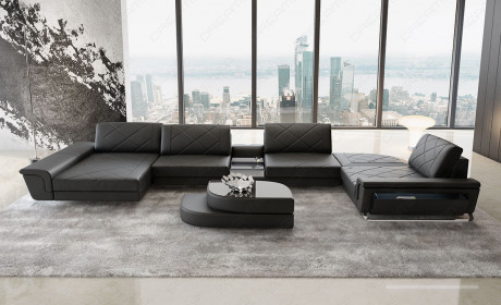 Modern U-Shaped Sectional Sofas | Luxury U Couch | Sofadrea
