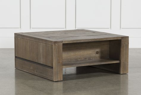 Lassen Square Lift-Top Coffee Table | Coffee table living spaces .
