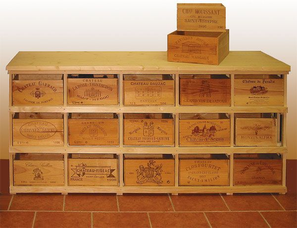 How to Find The Right Wine Crate for your Project | Wine crate .