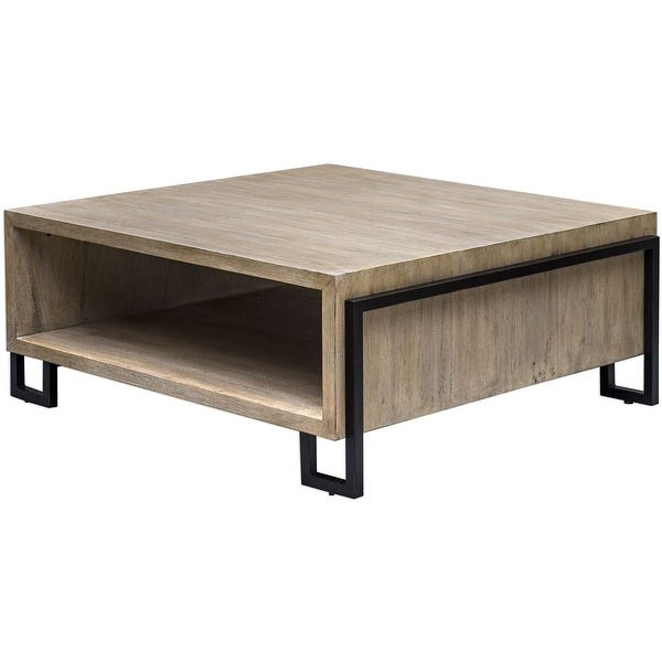 """Shop Uttermost 25876 Kailor 42"""" Long Iron and Metal Coffee Table ."""