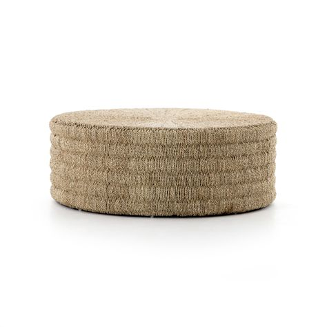 Pascal Light Natural Coffee Table in 2020   Drum coffee table .