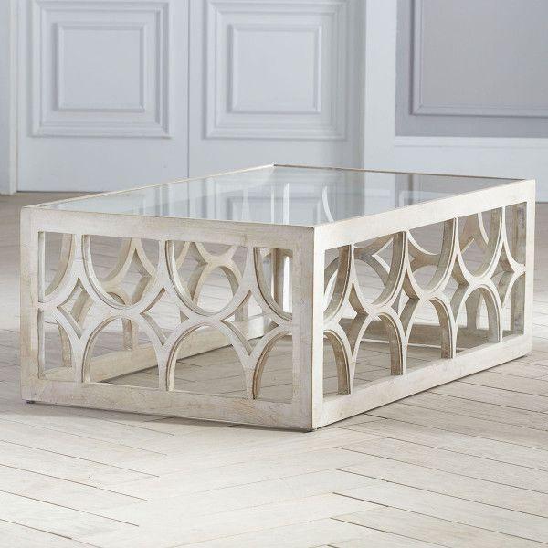 Limewash Coffee Table   Coffee table design, Turquoise living room .