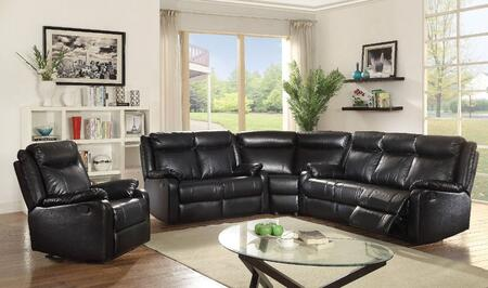 Glory Furniture Ward Faux Leather Sectional Sofa .
