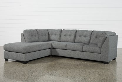 Arrowmask 2 Piece Sectional with Left Arm Facing Chaise | Living .