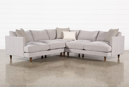 Adeline II 3 Piece Sectional | Living Spac