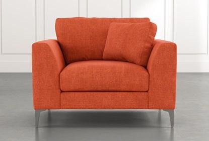 Loft Orange Arm Chair | Living Spac