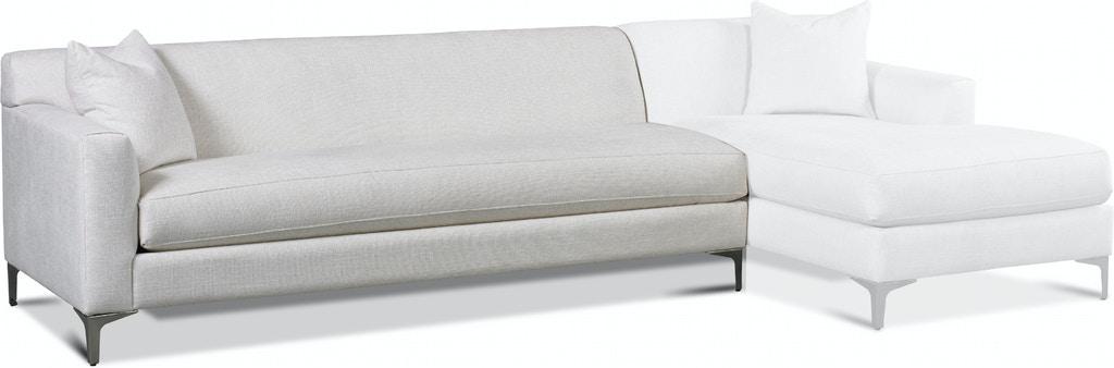 Precedent Furniture #3270-SL Caryssa Left Arm Sofa | INTERIORS .