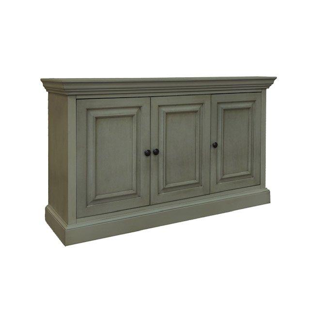 Sage Green 3 Door Sideboard - Logan | RC Willey Furniture Sto