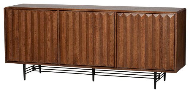 Logan Oak Sideboard - Midcentury - Buffets And Sideboards - by .