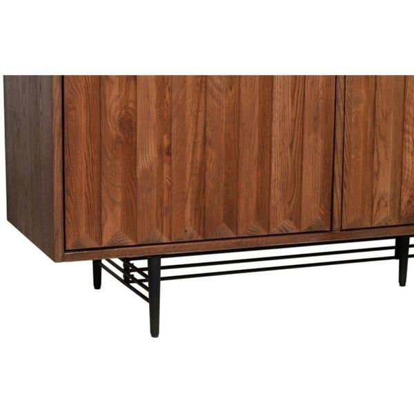 Shop Logan Oak Sideboard - On Sale - Overstock - 309378