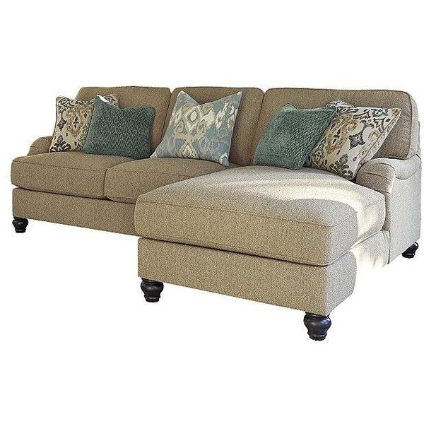 Julesburg 2-Piece Sectional ($1,499) ❤ liked on Polyvore .