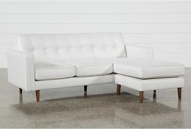 London Optical Reversible Sofa Chaise - White - $595 | Chaise sofa .