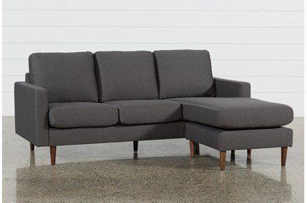 London Optical Reversible Sofa Chaise - White - $595 | Dark gray .