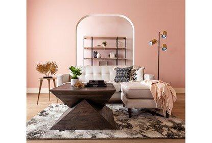 London Optical Reversible Sofa Chaise | Living Spac