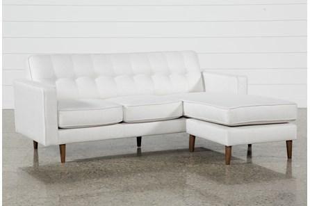 London Optical Reversible Sofa Chaise - White - $595   Chaise sofa .