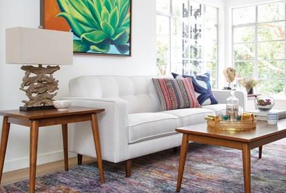 London Optical Sofa | Living Spac