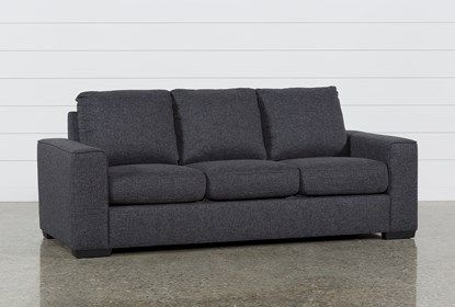 Lucy Dark Grey Sofa - $395 | Dark gray sofa, Gray sofa, So