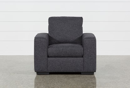 Lucy Dark Grey Chair | Living Spac