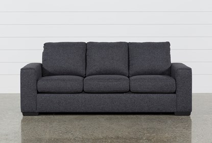 Lucy Dark Grey Sofa | Living Spac