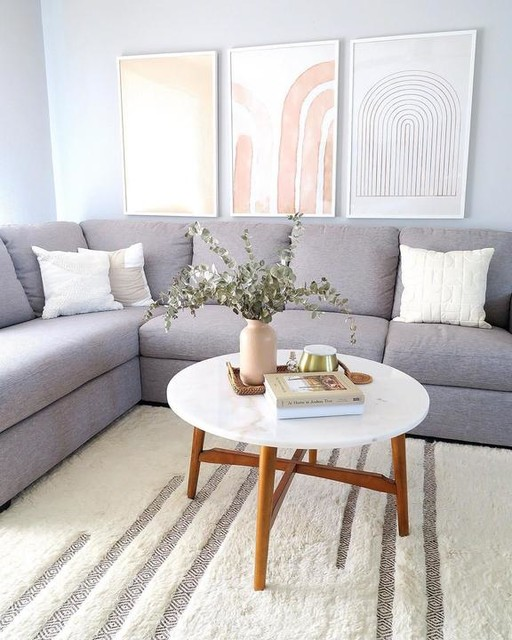 Lucy Grey 2 Piece Sectional With Left Arm Facing Chaise | Living .