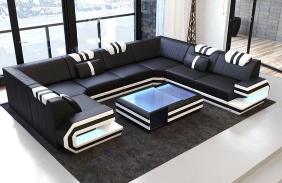 Luxury Sectional Sofa San Antonio U Shape | Luxury sofa design .
