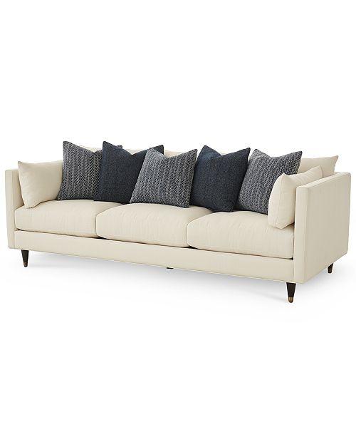 "Furniture Bostal 98"" Fabric Estate Sofa, Created for Macy's ."