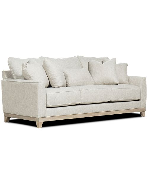 "Furniture Brackley 94"" Fabric Sofa, Created for Macy's & Reviews ."