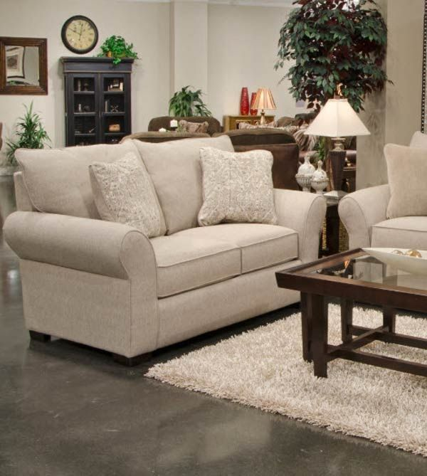 Jackson Furniture - Maddox 2 Piece Sofa Set - 4152-03-02-STONE .