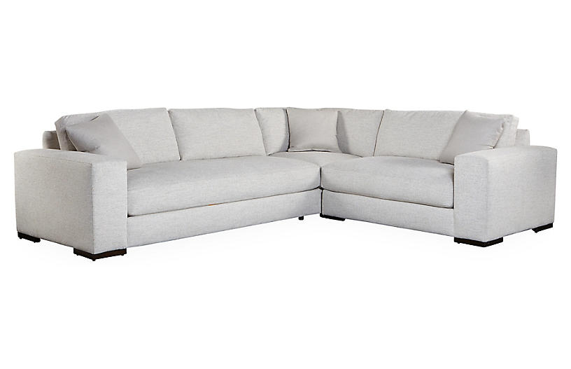 Maddox Right-Facing Sectional - Pearl - Robin Bruce | Sectional .