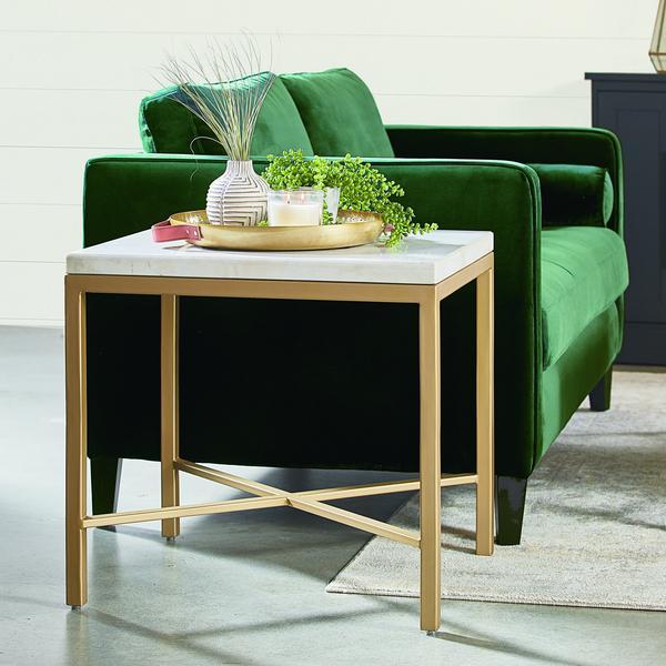 Emerald Dapper Sofa | Magnolia Home MCM Living Furniture | City Ho