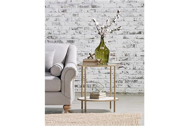Magnolia Home Ellipse End Table By Joanna Gaines - 360 | Magnolia .