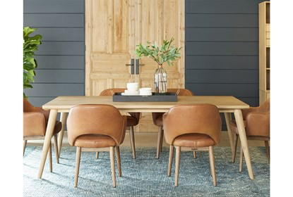 Magnolia Home Hamilton Saddle Dining Side Chair By Joanna Gaines .