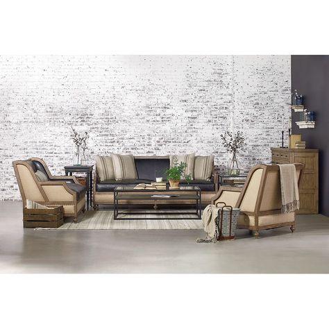 Foundation Loveseat in Ivory | Living Room Design in 2019 .
