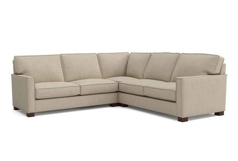 Magnolia Home Dweller Homespun Cream 3 Pc Sectional Sofa By Joanna .