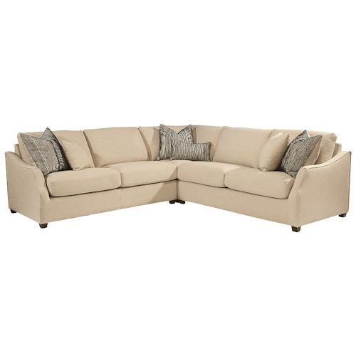 Magnolia Home by Joanna Gaines Homestead Three Piece Sectional .